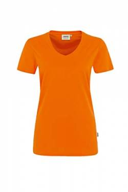 HAKRO Damen T-Shirt Performance - 181 - orange - Größe: 4XL von HAKRO