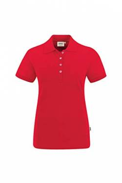 Hakro WOMEN-POLOSHIRT STRETCH # 222 (2XL, rot) von HAKRO