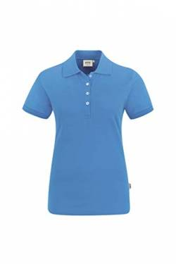 Hakro Women-Poloshirt Stretch, 222, malibu-blue, 3XL von HAKRO
