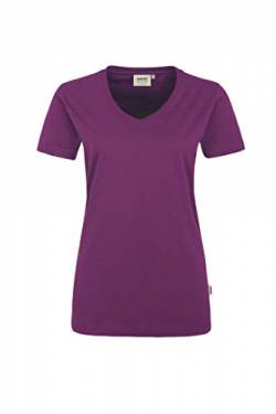Hakro Women-T-Shirt Performance, 181, aubergine, 4XL von HAKRO