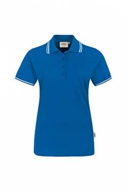 Women-Poloshirt Twin-Stripe von HAKRO