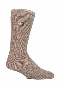 HEAT HOLDERS - Herren Winter Warm Thermo Merino Wollsocken (39/45, Oatmeal (Merino)) von HEAT HOLDERS