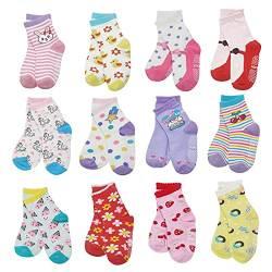 A Baby rutschfeste Socken Baby Jungen dicke warme Winter Socken f/ür Baby M/ädchen Terry Socken N