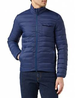 Hackett London Herren Jacke HKT LTWEIGHT DOWN JKT, Blau (Navy 595), Medium (Herstellergröße: M) von HKT by Hackett