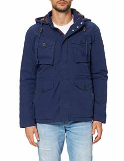 Hackett London Herren Jacke HKT New Cruiser JKT, Blau (Ink 591), Large (Herstellergröße: L) von HKT by Hackett
