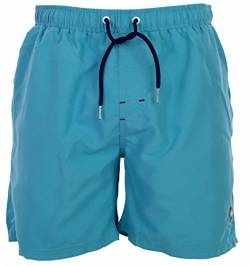 Happy Shorts Herren Badeshorts Strandshorts Shorts Light Aqua blau S - XXL, Gr�sse:L - 6-52, Farbe:blau von Happy Shorts