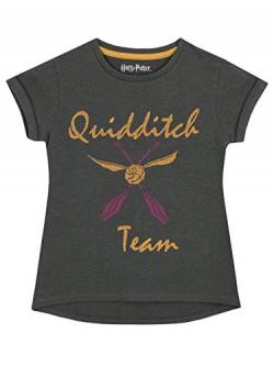 Harry Potter Mädchen Quidditch T-Shirt 122 von Harry Potter