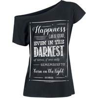Harry Potter Albus Dumbledore - Happiness Can Be Found  T-Shirt  schwarz von Harry Potter