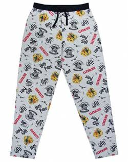 Harry Potter Jogginghosen Hogwarts Crest Herren Lounge Pants Pyjama Bottoms von Harry Potter