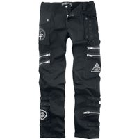 Heartless Jaxon Pants  Stoffhose  schwarz von Heartless
