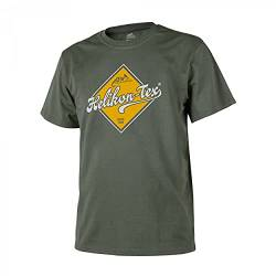 Helikon-Tex T-Shirt Road Sign -Cotton- Olive Green von Helikon-Tex