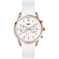Henry London Heritage Pimlico Unisexchronograph in Weiß HL39-CS-0126 von Henry London