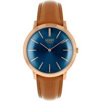 Henry London Iconic Herrenuhr in Braun HL40-S-0244 von Henry London