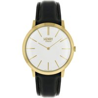 Henry London Iconic Herrenuhr in Schwarz HL40-S-0238 von Henry London
