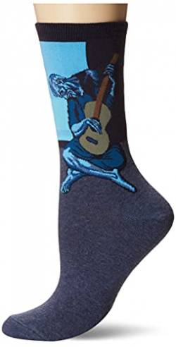 Hot Sox Picasso's Old Guitarist Blue Socken Crew von Hot Sox