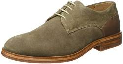 Hudson London Herren Enrico Suede 44 Oxfords, Braun (Taupe), EU von Hudson London