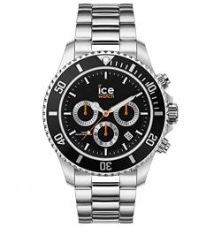 ICE Watch Uhren Analog Quarz One Size Silber/Schwarz 32015111 von ICE WATCH