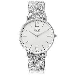 Ice-Watch - City Madame Silver - Silbergraue Damenuhr mit nylonarmband - 001427 (Small) von Ice-Watch