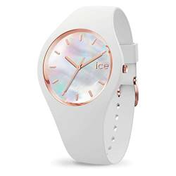 Ice-Watch - ICE pearl White - Weiße Damenuhr mit Silikonarmband - 016935 (Small) von Ice-Watch