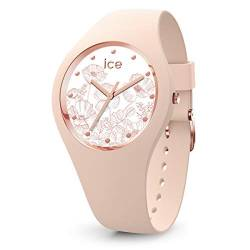 Ice-Watch - ICE flower Spring nude - Women's wristwatch with silicon strap - 016670 (Medium) von Ice-Watch