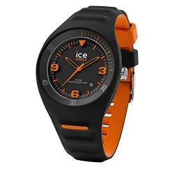 Ice-Watch - P. Leclercq Black orange - Schwarze Herrenuhr mit Silikonarmband - 017598 (Medium) von Ice-Watch