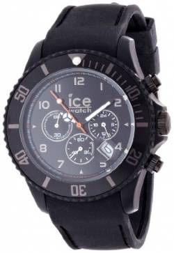 ICE-Watch Unisex-Armbanduhr IceChrono Quarz Analog Silikon Schwarz CHM.BK.B.S.12 von Ice-Watch