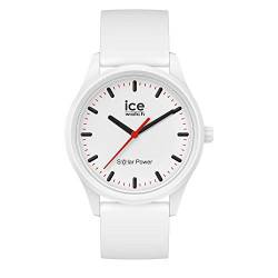 Ice-Watch - ICE solar power Polar - Weiße Herren/Unisexuhr mit Silikonarmband - 017761 (Medium) von Ice-Watch