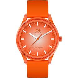 Ice-Watch - ICE solar power Sunlight - Orange Herren/Unisexuhr mit Silikonarmband - 017771 (Medium) von Ice-Watch