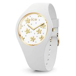 Ice-Watch - ICE flower Precious white - Women's wristwatch with silicon strap - 016658 (Small) von Ice-Watch
