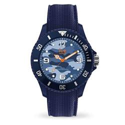 Ice-Watch - Bastogne Blue - Men's (Unisex) wristwatch with silicon strap - 016293 (Medium) von Ice-Watch