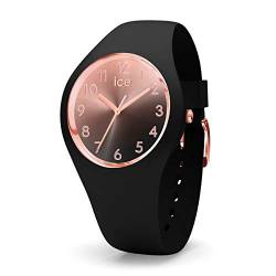 Ice-Watch - ICE sunset Black - Women's wristwatch with silicon strap - 015746 (Small) von Ice-Watch