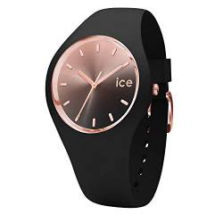 Ice-Watch - Ice Sunset Schwarz - Damen wristwatch mit Silikonarmband - 015748 (Medium) von Ice-Watch