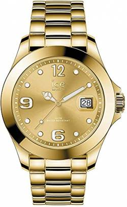 Ice-Watch - Ice Steel Gold - Gold Damenuhr mit Metallarmband - 016777 (Medium) von Ice-Watch