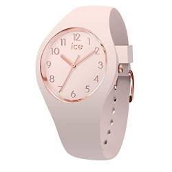 Ice-Watch - ICE glam colour Nude - Rosa Damenuhr mit Silikonarmband - 015330 (Small) von Ice-Watch