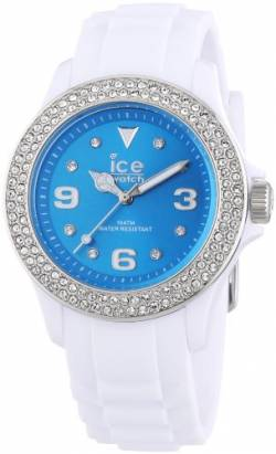 Ice-Watch Damen - Armbanduhr Ice Star Analog Quarz Silikon ITE.ST.WTE.U.S.12 von Ice-Watch