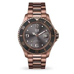 Ice-Watch - ICE steel Bronze - Men's wristwatch with metal strap - 016767 (Large) von Ice-Watch