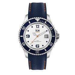 Ice-Watch - ICE steel White blue - Men's wristwatch with silicon strap - 016772 (Large) von ICE-WATCH