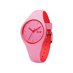 Ice-Watch - ICE duo Pink Red - Rosa Damenuhr mit Silikonarmband - 001491 (Small) von Ice-Watch