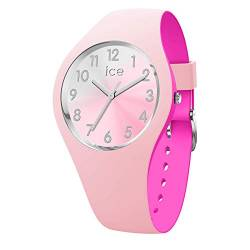 Ice-Watch - ICE duo chic Pink silver - Women's wristwatch with silicon strap - 016979 (Small) von Ice-Watch