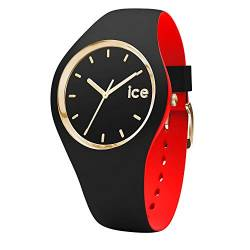 Ice-Watch - ICE loulou Black Gold - Women's wristwatch with silicon strap - 007225 (Small) von Ice-Watch