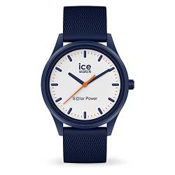 Ice-Watch - ICE solar power Pacific Mesh - Blaue Herren/Unisexuhr mit Silikonarmband - 018394 (Medium) von Ice-Watch