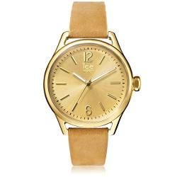 Ice-Watch - ICE time Beige Gold - Women's wristwatch with leather strap - 013074 (Small) von Ice-Watch