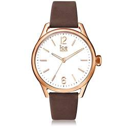 Ice-Watch - ICE time Brown Rose-Gold - Women's wristwatch with leather strap - 013054 (Medium) von Ice-Watch
