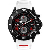Ice-Watch Ice-Carbon Big Big Herrenchronograph in Weiß 001315 von Ice-Watch