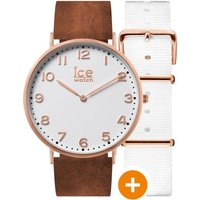 Ice-Watch Ice City 36mm Herrenuhr in Braun 001377 von Ice-Watch