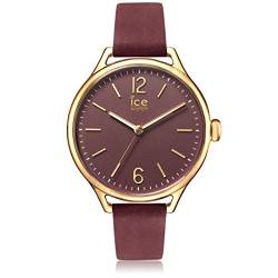 Ice-Watch - ICE time Red Champagne - Women's wristwatch with leather strap - 013063 (Medium) von Ice-Watch