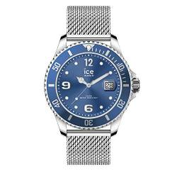 Ice-Watch - ICE steel Mesh blue - Blaue Herren/Unisexuhr mit Metallarmband - 017667 (Medium) von Ice-Watch