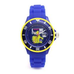Ice-Watch Unisex-Armbanduhr Small F*** Me I'm Famous Blau LM.SS.RBH.S.S.11 von Ice-Watch
