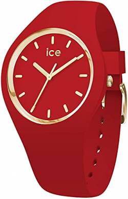 Ice-Watch - ICE glam colour Red - Women's wristwatch with silicon strap - 016264 (Medium) von Ice-Watch