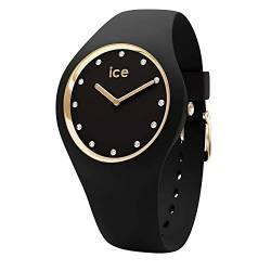 Ice-Watch - ICE cosmos Black Gold - Women's wristwatch with silicon strap - 016295 (Medium) von ICE WATCH